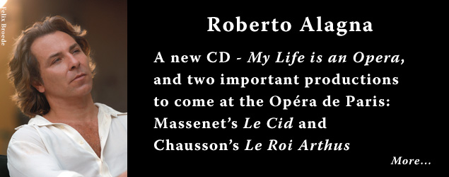 Interview with Roberto Alagna, French Tenor - My Life is an Opera