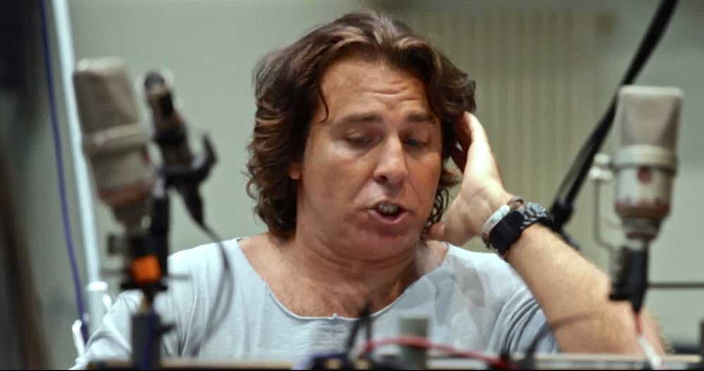 Roberto Alagna recording <i>My Life is an Opera </i> in London in September 2014.  D.R.