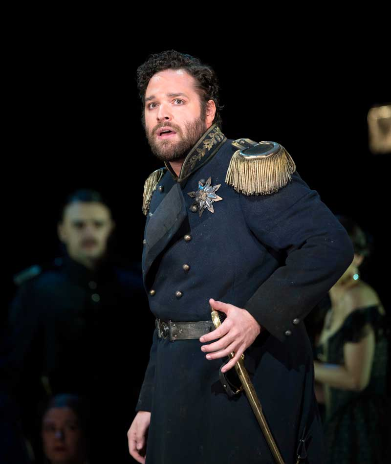 Bryan Hymel sings the role of Enea in <i>Les Troyens</i> at Covent Garden. © ROH 2012/Bill Cooper
