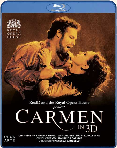 Blu-ray <i>Carmen 3D</i> edited by Opus Arte…